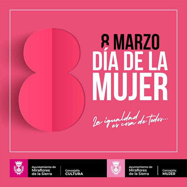 8 de marzo: Día de la Mujer, en Miraflores de la Sierra