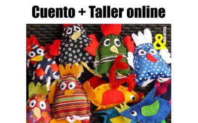 """""""Cuentalleres"""". Cuentacuentos y talleres creativos en casa."""