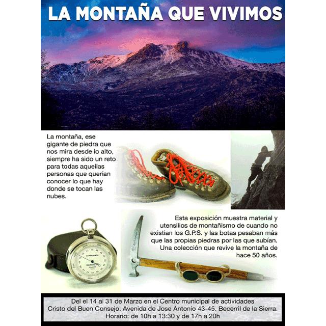 """Exposición: """"La montaña que vivimos"""""""