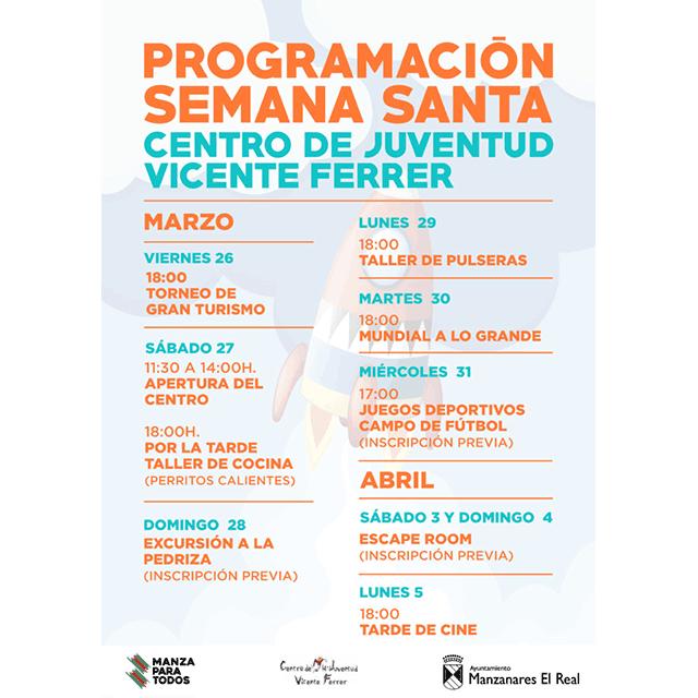 Semana Santa 2021: Juventud Manzanares El Real.