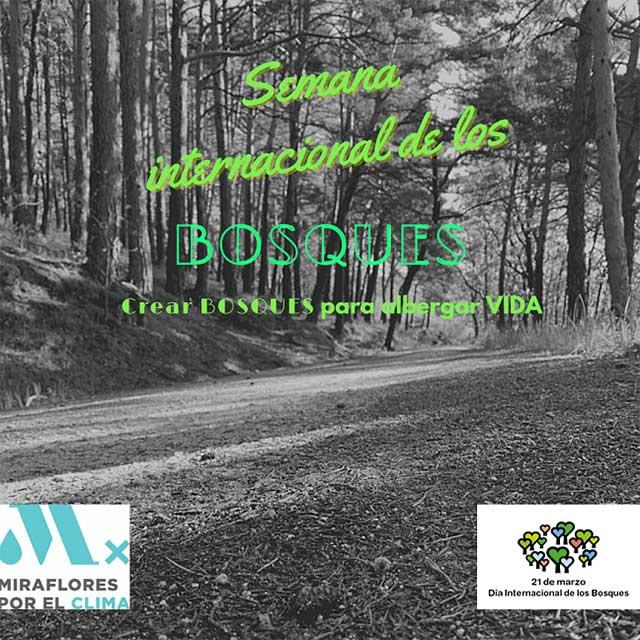 Semana Internacional de los Bosques (2021), en Miraflores de la Sierra.