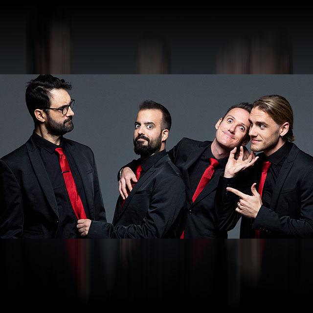 Primital Bros en concierto.