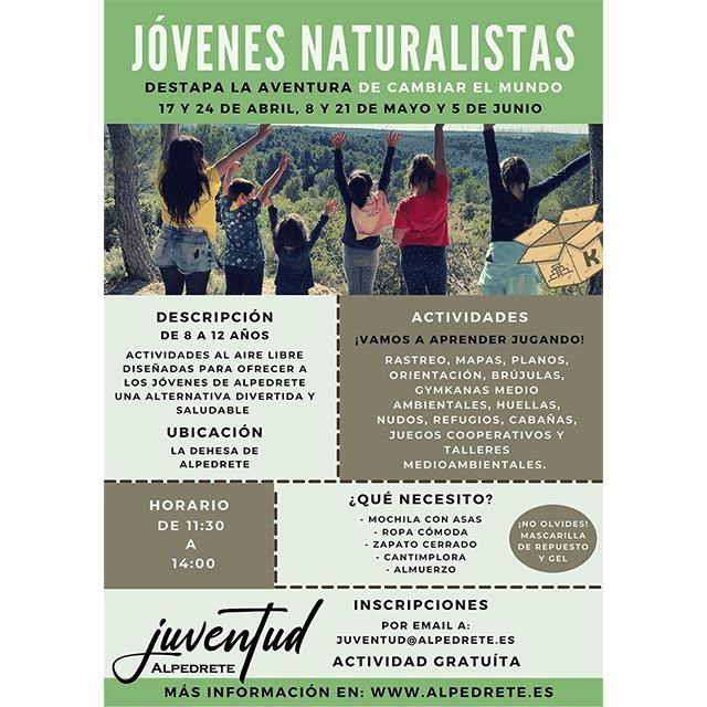 """""""Jóvenes Naturalistas"""""""