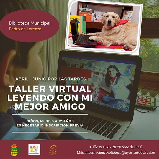 """Taller virtual: """"Leyendo con mi mejor amigo"""""""