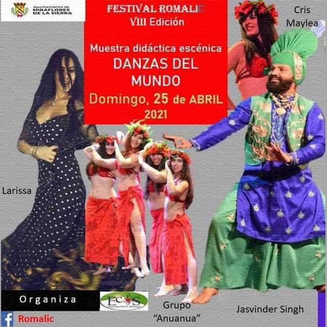"""VIII Micro Festival RomaliC (2021): """"Danzas del Mundo"""""""