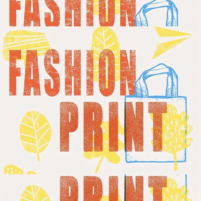 """Taller de Impresión """"Fashion Print"""", con En Volandas."""