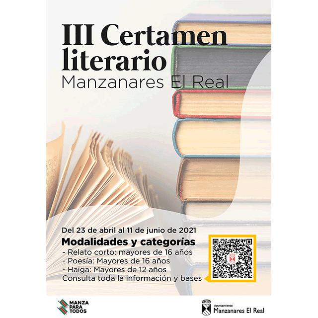 III Certamen literario Manzanares El Real (2021)