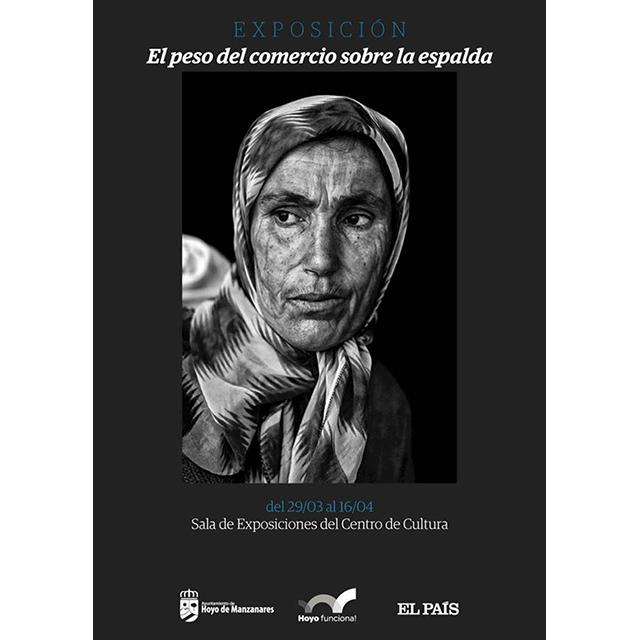 """Exposición: """"El peso del comercio sobre la espalda"""" (Archivo El País)"""