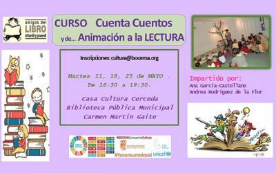 Curso: Cuentacuentos y Animación a la Lectura