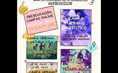 Presentación de los Campamentos de Verano Origami 2021