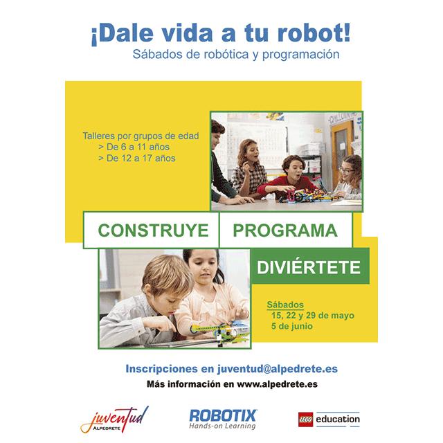 Sábados de Robótica para jóvenes y familias