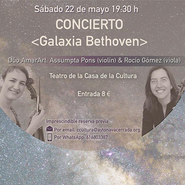 """Concierto: """"Galaxia Beethoven"""""""