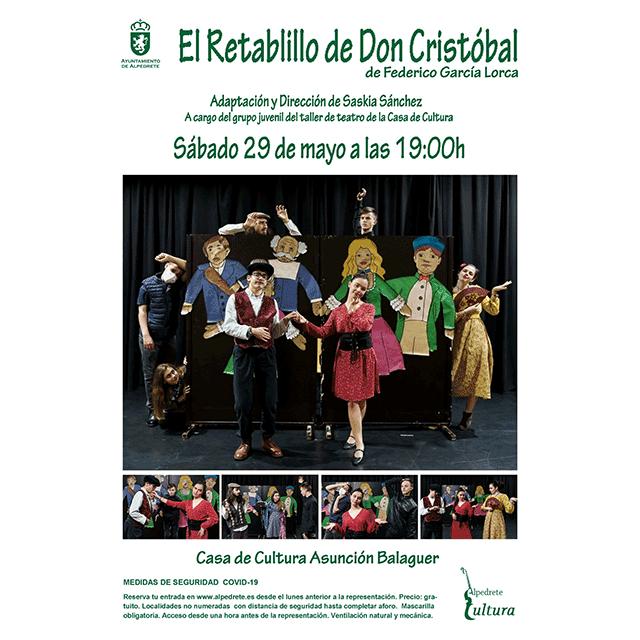 """""""El Retablillo de Don Cristóbal"""", de Lorca."""