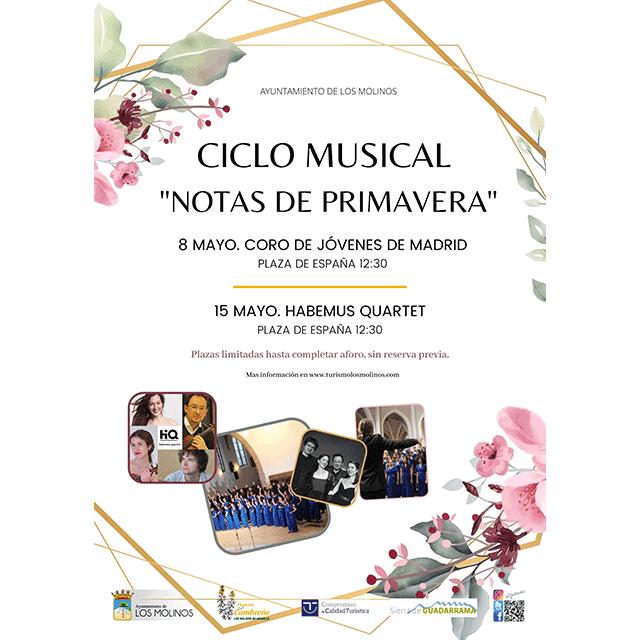 """Ciclo musical """"Notas de Primavera"""""""
