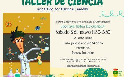 Taller de Ciencia: «¿Por qué flotan los cuerpos?»