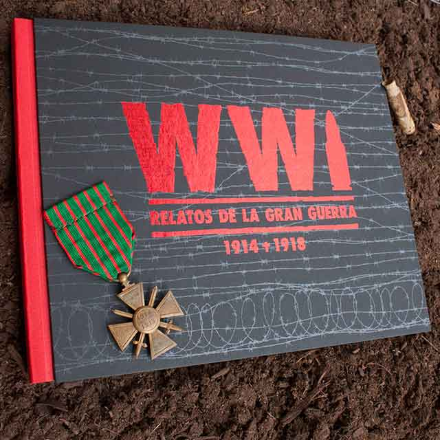 """Presentación del libro """"WWI Relatos de la Gran Guerra"""""""