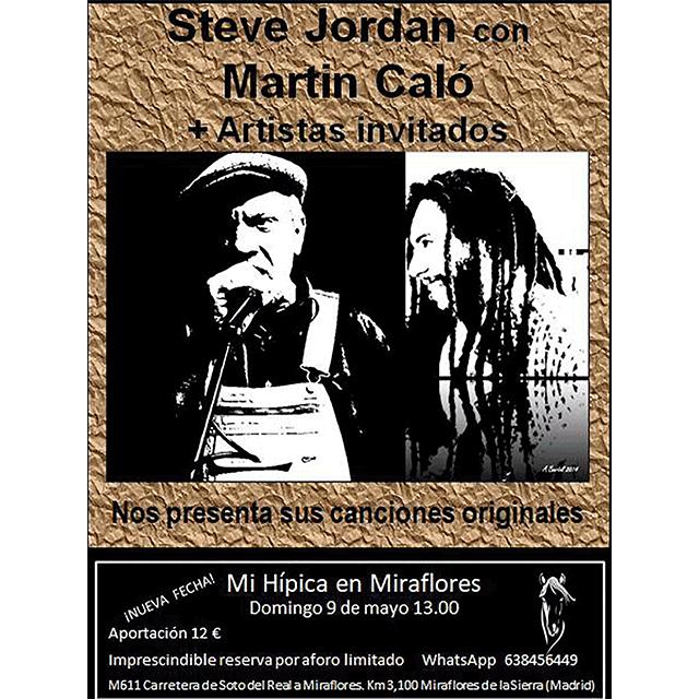 Steve Jordan + Martin Caló