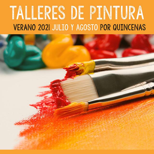 Talleres de Pintura (verano 2021), en Becerril de la Sierra.