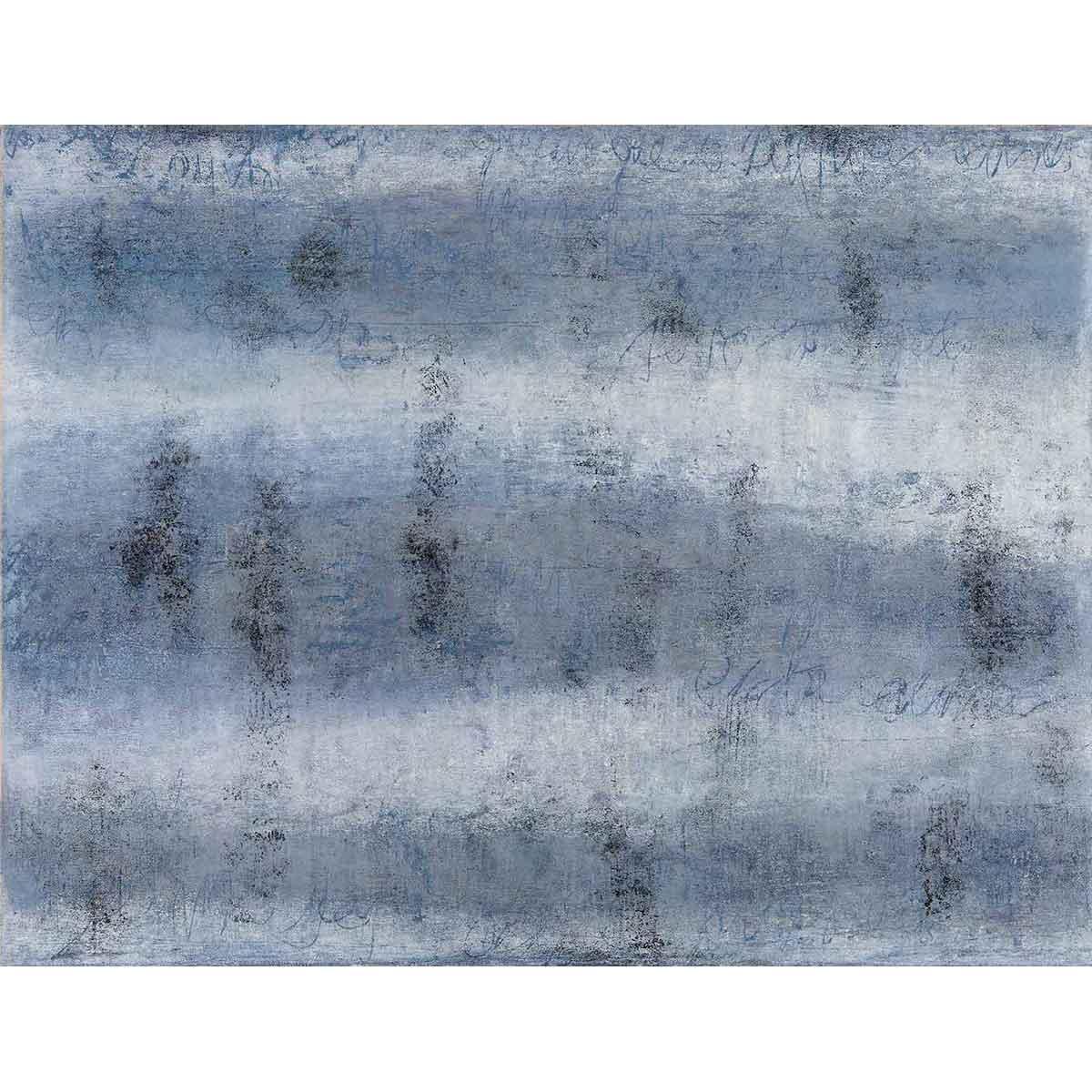 """ELENA G. CORTÉS - """"Ráfagas y Letras"""" / Técnica mixta sobre papel, 50x65cm."""