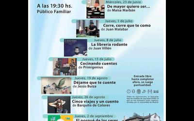 Cuentacuentos de Verano (2021), en Collado Villalba.
