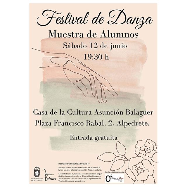Festival de Danza (2021), en Alpedrete.
