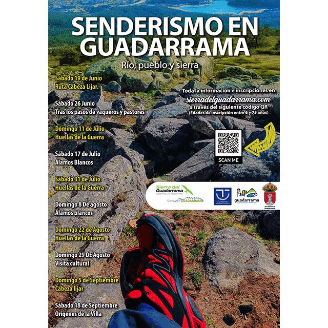 Senderismo en Guadarrama: Río, pueblo y sierra.