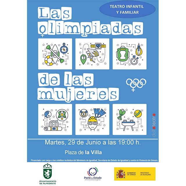 """Teatro: """"Las olimpiadas de las mujeres"""""""