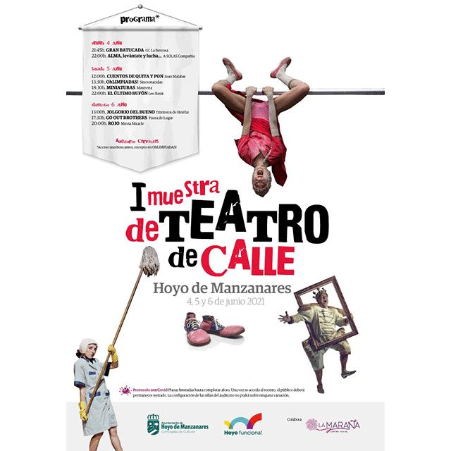I Muestra de Teatro de Calle de Hoyo de Manzanares (2021)