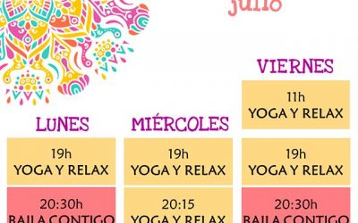 Clases de Yoga y Baile, en Guadarrama.