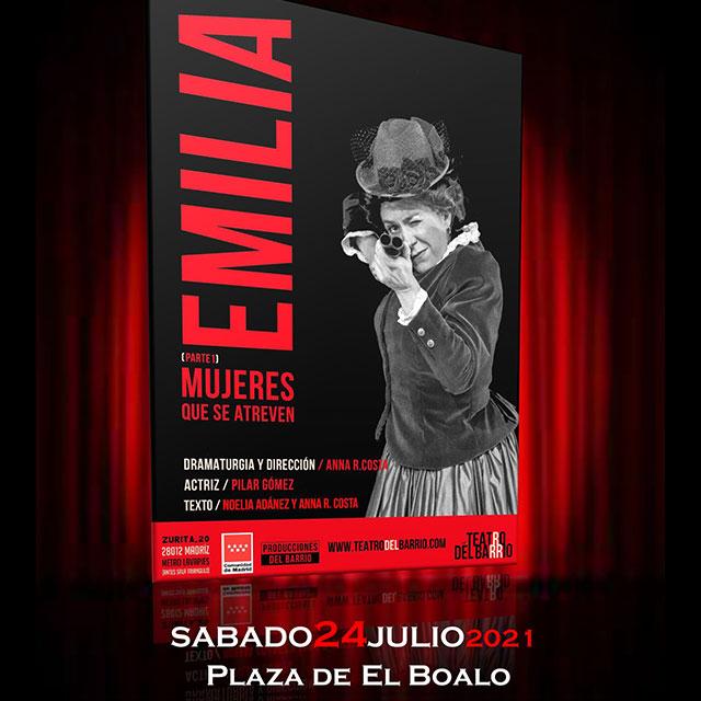 """""""Emilia"""". Mujeres que se atreven. Parte 1"""