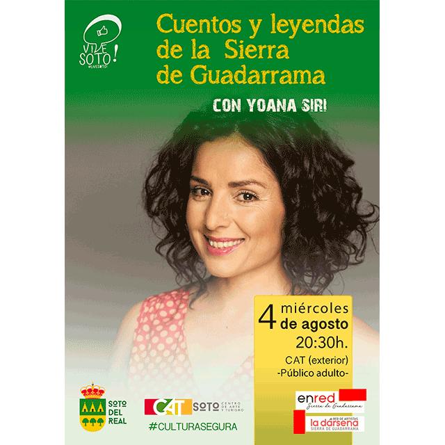 """Yoana Siri: """"Cuentos y leyendas de la Sierra de Guadarrama"""""""