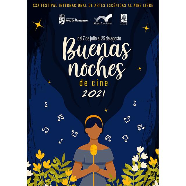 """Buenas Noches """"de cine"""" 2021, en Hoyo de Manzanares"""