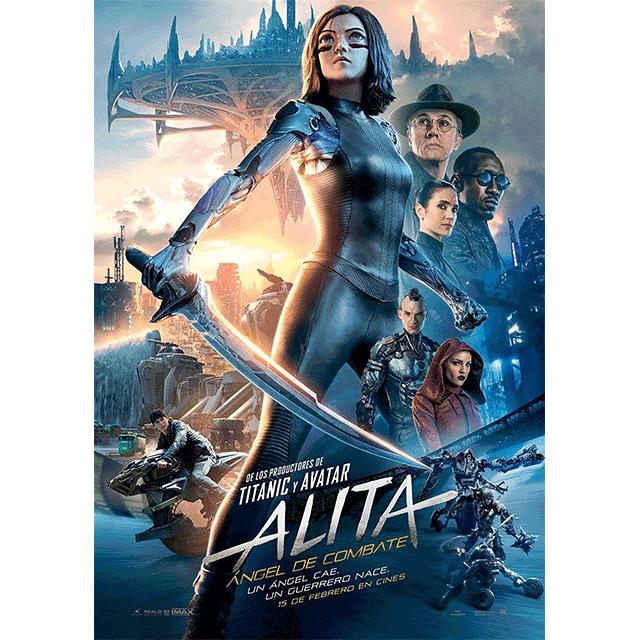 """Autocine: """"Alita, ángel de combate"""""""