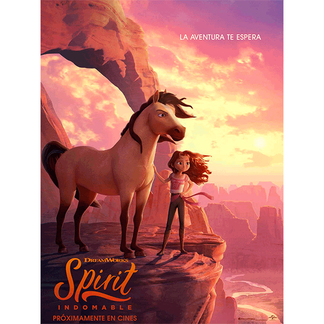 "Cine de verano: ""Spirit Indomable"""
