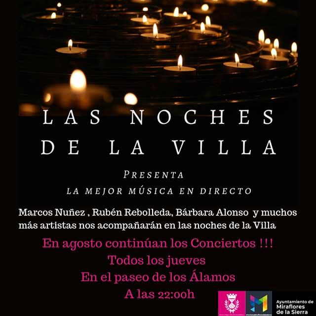 Las Noches de la Villa (2021), en Miraflores de la Sierra