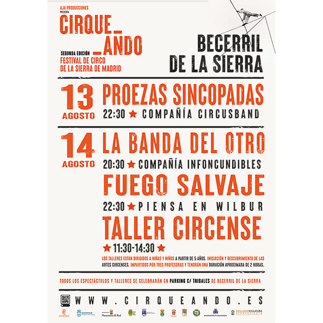 Cirqueando 2021, en Becerril de la Sierra.