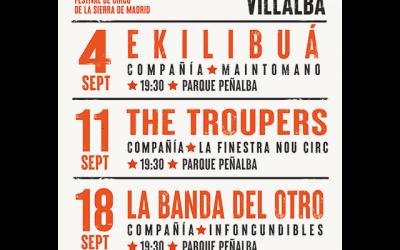 Cirqueando 2021, en Collado Villalba.