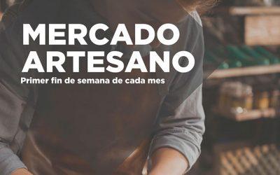 Mercado Artesano, en Manzanares El Real.