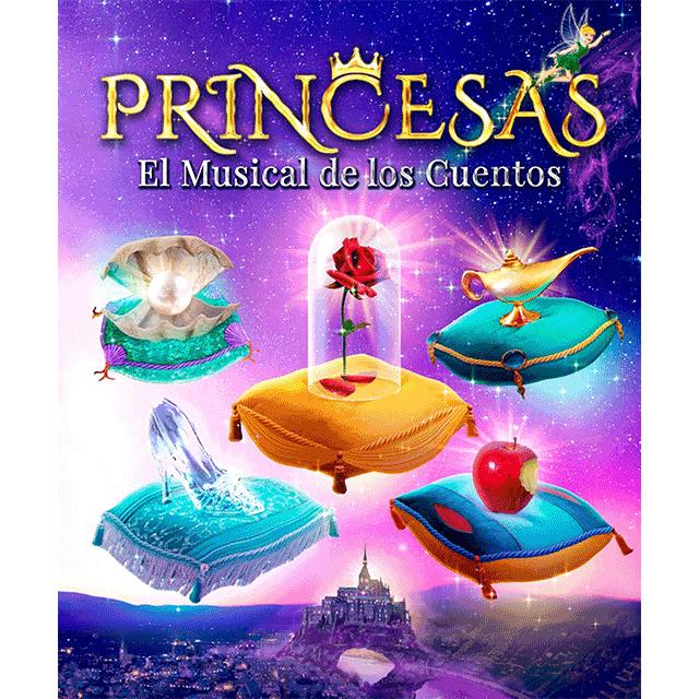 """""""Princesas. El musical de los cuentos"""""""