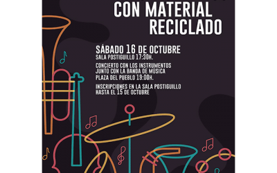 Taller y Concierto de Instrumentos Musicales con material reciclado.