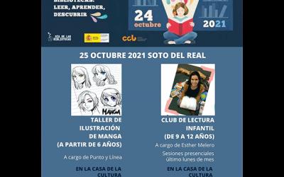 Día de la Biblioteca (2021), en Soto del Real.