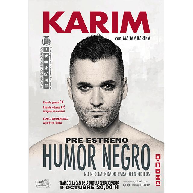 "Karim: ""Humor Negro"""