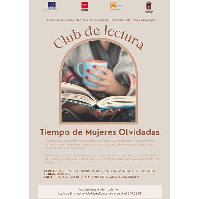 """Club de Lectura: """"Tiempo de Mujeres Olvidadas"""""""